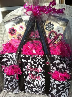 Totally cute idea for a fundraiser basket using the Organizing Utility Tote!! This is too cute :) www.mythirtyone.com/ashleymarble