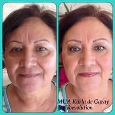 Natural makeup to look younger is the choice after 50's