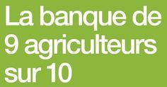 La banque de 9 agriculteurs sur 10 #creditagricole