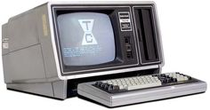 Tandy/Radio Shack TRS-80 model II computer, high school physics class had one of these