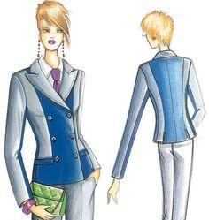 F3226 | Marfy Jacket | Jackets / Vests | Butterick Patterns