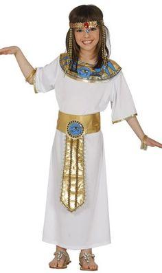 Disfraz de Faraona Egipcia para niña