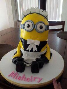 First Minion Cake
