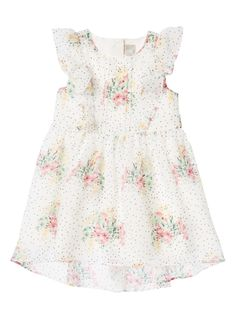 3cc9c3a26ed7 Boost her wardrobe with this silky floral tea dress. Crafted for special  occasions, this