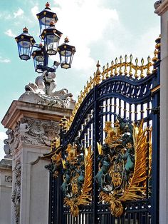 Royal Gate, Buckingham Palace, London Saw the change of guards, lived here for several years. Not specifically in London, but in England.