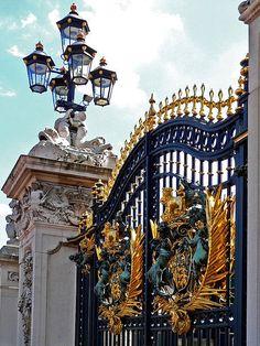 Royal Gate, Buckingham Palace, London