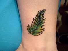 Silver Fern Tattoo Meaning