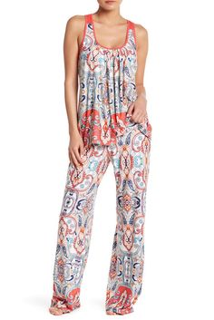 Image of In Bloom by Jonquil Racerback 2-Piece Pajama Set