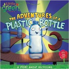 This book will walk children through the life of a plastic bottle from when it is created to when it is recycled into something else.  Great for Earth Day.