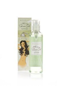 Nougat  Moisturizing Shower Gel, Fig and Pink Cedar, 8.4-Fluid Ounce by Nougat. $20.90. Moisturizing Shower Gel contains Mallow extract and Wheatgerm Oil blended with Vitamin E to hydrate protect and soothe the skin.. Also availabel in Tuberose & Jasmine fragrance. Fig & Pink Cedar blend the warmth of Bergamot and Orange Blossom with middle notes of the  Oleander flower and delicate floral of Jasmine and Belladonna lillies with base notes of sensuous Fig and wood spice of Pin...