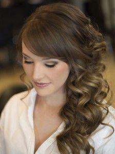 penteado madrinha, penteado casamento, penteado cabelos soltos