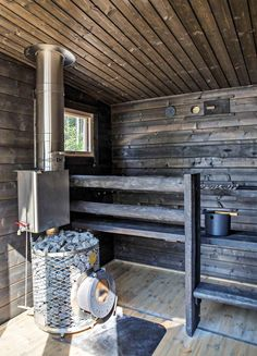 Rustic Saunas, Modern Saunas, Outdoor Sauna, Outdoor Decor, Sauna House, Sauna Design, Colorado Homes, Viera, Log Homes