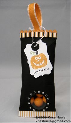 stampin up halloween projects | StampWithKriss.com » stampin up halloween 3D project