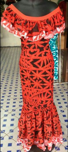Pin by Loata Senibua on mine in 2019 African Fashion Dresses, African Dress, Fashion Outfits, Fashion Wear, Tahiti, Island Outfit, Island Wear, Samoan Dress, Hawaiian Wear
