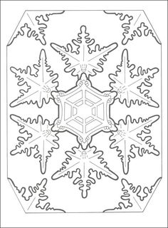 Snowflake Designs Coloring Book Dover Publications | seasonal ...
