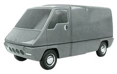 OG | 1980 Renault Master Mk1 | Styling scale clay model designed by Gandini, dated Dec. 1973