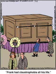 and with mirrors or a wall mural inside?: even better! Close To Home Comic, Mental Health Humor, Morbid Humor, Psychology Humor, Tim Burton Art, Dark Sense Of Humor, Make Em Laugh, Work Humor, Funny Cartoons