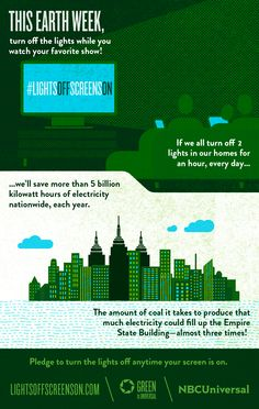 Flip a Switch, Save the World (Infographic)