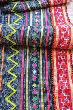 For my bedroom - Handwoven Hmong  hemp and cotton Vintage fabric