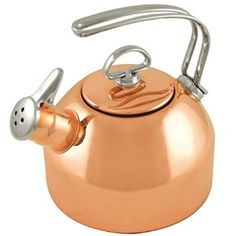 Classic Copper Kettle with Harmonica Whistle