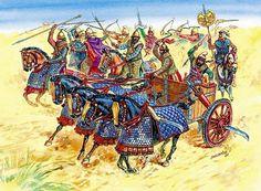 Эпоха битв в рисунках. Часть 1. (30 фото)