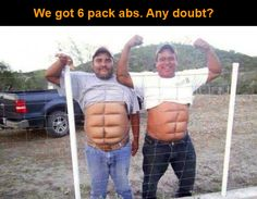 Funny mems: 6 pack ab