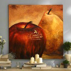 Bodegón Sean Peras o Manzanas - Cuadros Decorativos al Óleo