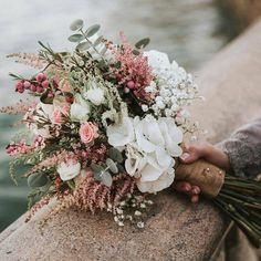 Most current Photo Bridal Bouquets diy Suggestions Just about the most important wedding dress accessories, this wedding planning bouquet, is ready based on the . Bridal Flowers, Flower Bouquet Wedding, Floral Wedding, Fall Wedding, Wedding Colors, Rustic Wedding, Dream Wedding, Vintage Bridal Bouquet, Blush Wedding Flowers