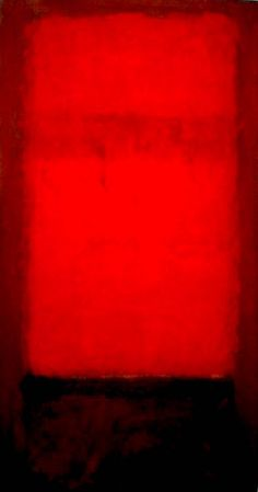 Mark Rothko, Red on Black
