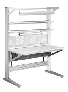 Anti Static ESD Workbenches and Stations - ESD furniture - conductive-worktable, ESD-safe-workbenches, Anti-Static bench, ESD Table, ESD Control Contener House, Metal Furniture, Furniture Design, Mobile Workshop, Sheet Metal Work, Assembly Table, Diy Tech, Game Room Design, Shop Layout