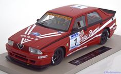 Alfa Romeo 75 Turbo Evoluzione IMSA, Giro d'Italia 1988, No.1, Patrese/Biasion/Siviero. Top Marques, 1/18, No.TOP04A, Limited Edition 500 pcs. 180€