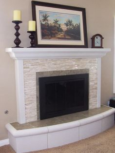 Would Love To Replace The Red Brick Around My Fireplace