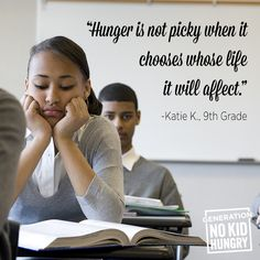 Hunger is not choosy