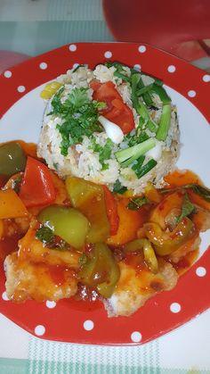 Mein Weg zurück ins Leben: Fisch mit Reis und Gemüse