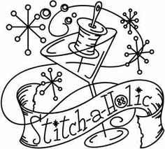 Stitch-a-holic | Urban Threads: Unique and Awesome Embroidery Designs