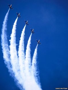The Blue Angels - watched them whenever they did the air show in either Norfolk or Virginia Beach every year.