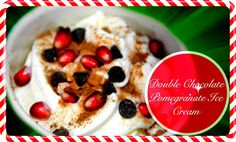 "Are you all ready for Christmas videos, yet? We hope so, because this holiday-inspired, double chocolate pomegranate ice cream recipe is absolutely delicious! You will not even realize it is healthy! Check out our Dessert Bullet playlist for more Dessert Bullet Recipes! Subscribe and ""like"" this video if you've enjoyed!:D"