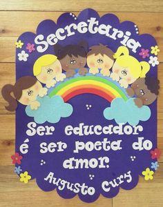 Temario Foam Crafts, Decor Crafts, Crafts To Make, Crafts For Kids, Class Door Decorations, Class Decoration, Ideas Para Fiestas, Kids Logo, Cute Faces