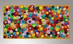 arte abstracto pintura pintura original camilla de lona por maiart1