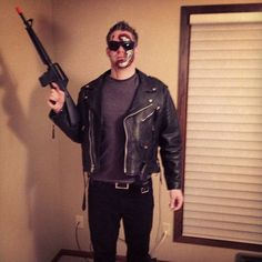 Pin for Later: 101 Totally Rad Halloween Costumes Inspired by the '80s Terminator