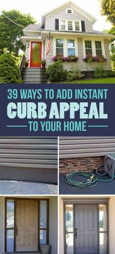 39 Budget Curb Appeal Ideas That Will Totally Change Your Home buy a home buying your first home (Diy House Budget) Home And Garden, House Design, Home Improvement Projects, Home Projects, Diy Home Improvement, Home Remodeling, Front Yard, Home Buying, Curb Appeal
