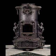 victorian iron stove,