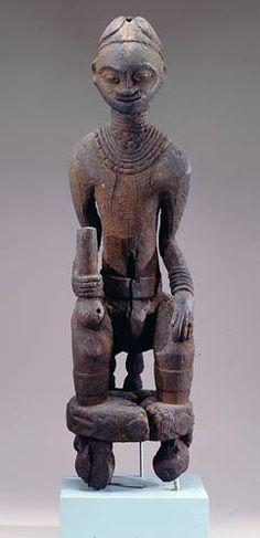Africa Art, West Africa, Sacred Groves, African Sculptures, Tribal Art, Wood Art, Arts And Crafts, Memories, Statue
