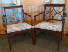 DIY Interior Design, home decor, Recover chairs, DIY Upholstery