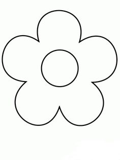 Print Simple-shapes Coloring Pages coloring page & book. Your own Simple-shapes Coloring Pages printable coloring page. With over 4000 coloring pages including Simple-shapes Coloring Pages . Shape Coloring Pages, Easy Coloring Pages, Flower Coloring Pages, Printable Coloring Pages, Free Coloring, Coloring Rocks, Coloring Sheets, Simple Flower Drawing, Easy Flower Drawings