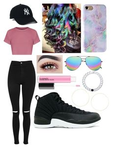 """""""W.C.W. [] Angie"""" by yeaitzangie on Polyvore featuring Topshop, Yves Saint Laurent, Kenneth Jay Lane and Lokai"""