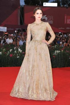 In honor of Keira Knightley's 28th birthday today, we rounded up a few of her best looks (like this Valentino number)