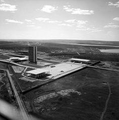 Brasília em Construção por Marcel Gautherot,© Marcel Gautherot
