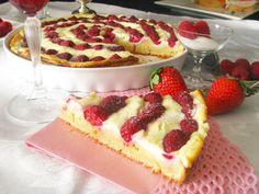 tvarohový koláč z jogurtového cesta!!!