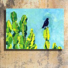 Wild #cactus is the best cactus ---- #desert #painting #oilpaint #oilpainting #canvasart #wallart #walldecor #artforsale #cactuslover #deserts #desertlife #bird #arizona #brycecanyon